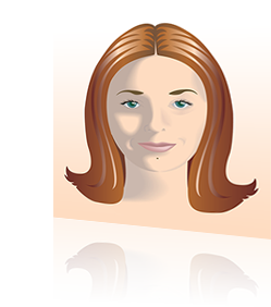Self Portrait Vector Illustration