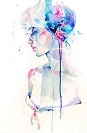 Artist Agnes-Cecile