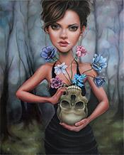 Artist Ken Keirns
