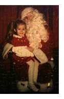 Puzzle of Me and Santa