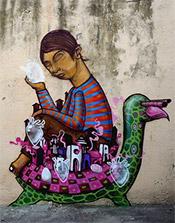 Artist Senkoe Wan
