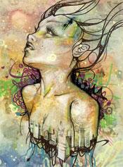 Artist Allison Torneros