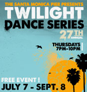 Twightlight Dance Series at Santa Monica Pier